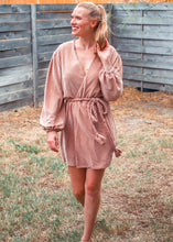 Shimmer To Me Wrap Dress - Sugar & Spice Apparel Boutique