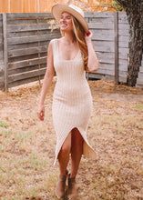 Golden Years Ribbed Knit Dress - Sugar & Spice Apparel Boutique