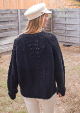 Close To You Knit Sweater in Black - Sugar & Spice Apparel Boutique