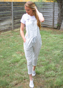 Stay In Lounge Jogger Overalls - Sugar & Spice Apparel Boutique