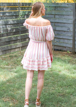 Summer Sorbet Off Shoulder Dress - Sugar & Spice Apparel Boutique