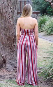 Show Your Stripes Jumpsuit - Sugar & Spice Apparel Boutique