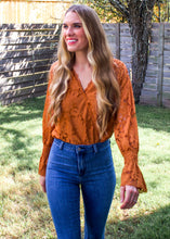 Sweetener Lace Bodysuit in Marmalade - Sugar & Spice Apparel Boutique