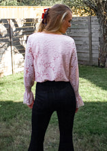 Sweetener Lace Bodysuit in Blush - Sugar & Spice Apparel Boutique