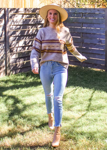 Old School Sweater - Sugar & Spice Apparel Boutique