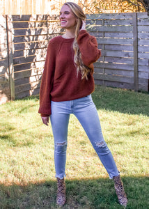 Falling For You Sweater - Sugar & Spice Apparel Boutique