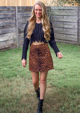 Too Much Cropped Distressed Sweater in Black - Sugar & Spice Apparel Boutique