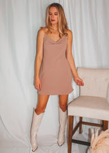 After Hours Slip Dress in Rose Taupe - Sugar & Spice Apparel Boutique