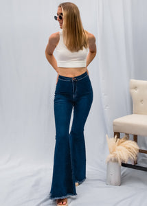 Gypsy Soul Denim Bells in Medium Wash - Sugar & Spice Apparel Boutique