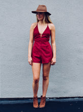 Heartbreaker Faux Suede Romper - FINAL SALE - Sugar & Spice Apparel Boutique