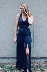 Girl's Night Out Jumpsuit - Sugar & Spice Apparel Boutique