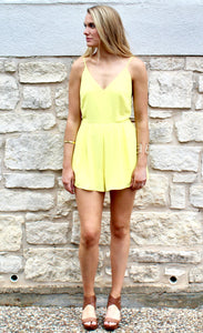 Summertime Sadness Romper - FINAL SALE - Sugar & Spice Apparel Boutique