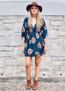 Free Spirit Floral Dress - Sugar & Spice Apparel Boutique