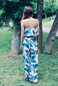 Meet Me in the Tropics Jumpsuit - FINAL SALE - Sugar & Spice Apparel Boutique