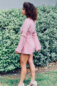Feeling Myself Bell Sleeve Romper - Sugar & Spice Apparel Boutique