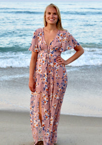 Eyes On You Floral Maxi Dress - Sugar & Spice Apparel Boutique