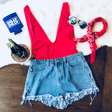 Call Me Maybe Denim Shorts - FINAL SALE - Sugar & Spice Apparel Boutique