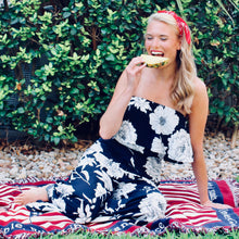 Maui Wowie Side Slit Jumpsuit - FINAL SALE - Sugar & Spice Apparel Boutique
