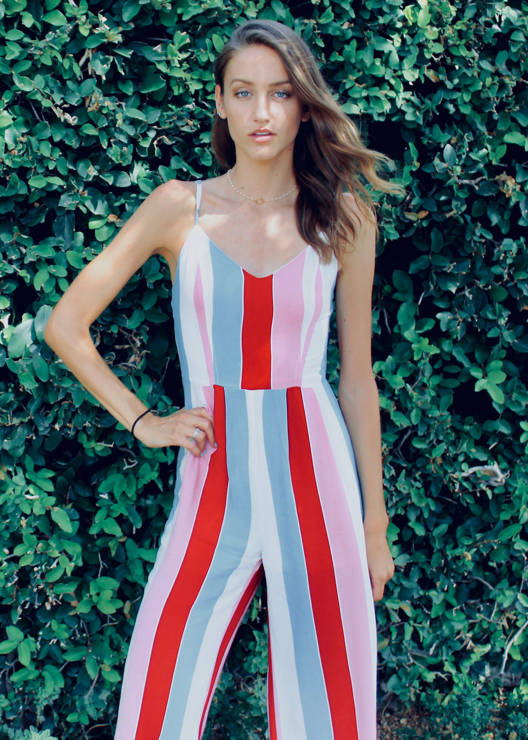 Carnival Striped Jumpsuit - Sugar & Spice Apparel Boutique