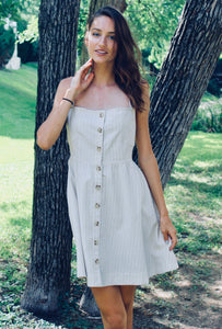 Written in the Sand Button Down Dress - Sugar & Spice Apparel Boutique