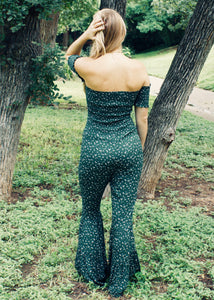 Time Machine Bell Bottom Jumpsuit - Sugar & Spice Apparel Boutique