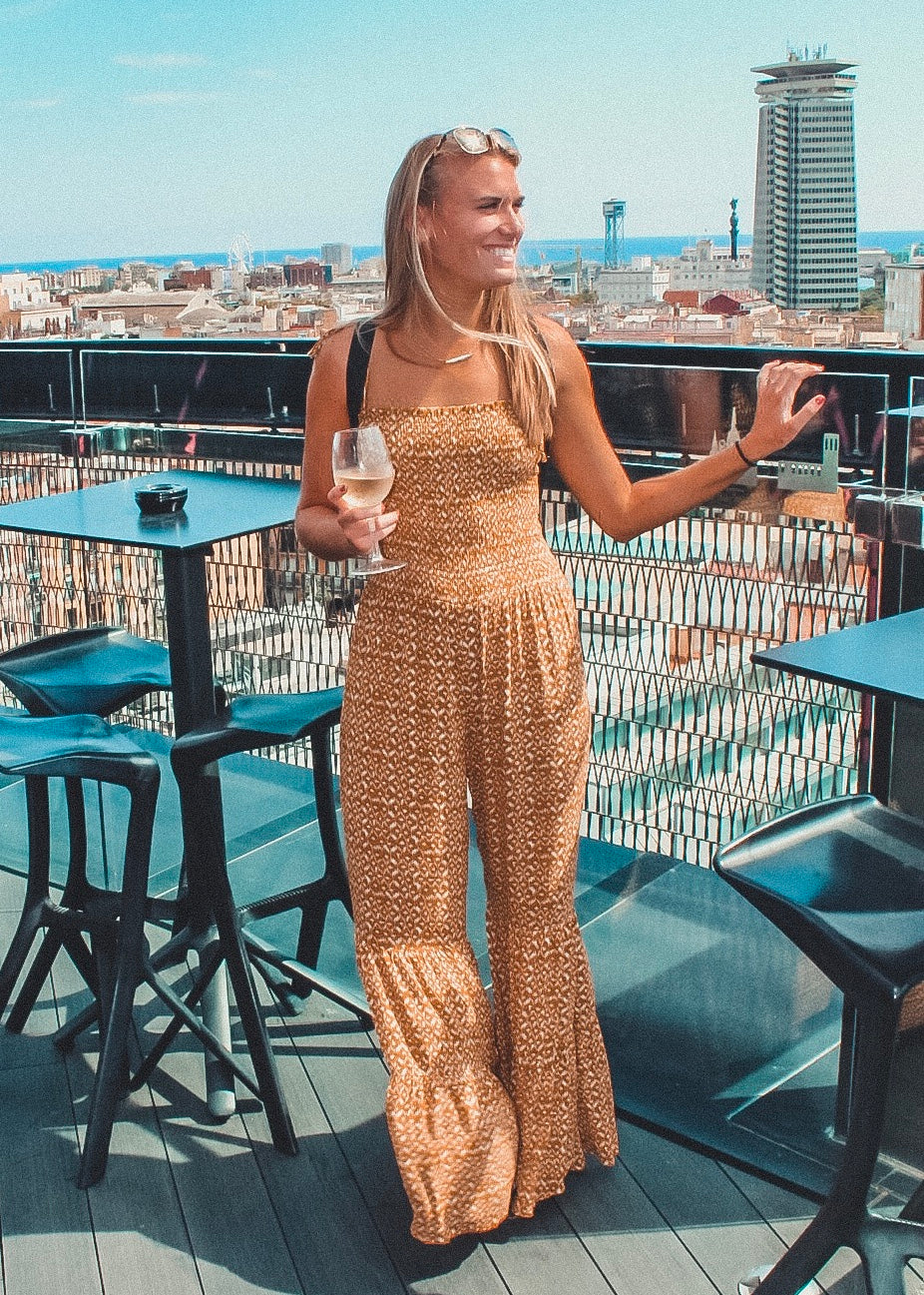 That 70's Bell Bottom Jumpsuit - Sugar & Spice Apparel Boutique