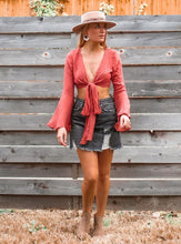 Sweet Dreams Are Made Of This Wrap Top - Sugar & Spice Apparel Boutique