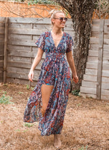 Road Less Traveled Maxi Romper - Sugar & Spice Apparel Boutique