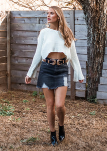 Ranger Double Buckle Belt in Gold - Sugar & Spice Apparel Boutique
