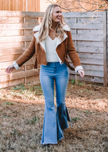 Ride With Me Suede Moto Jacket - Sugar & Spice Apparel Boutique