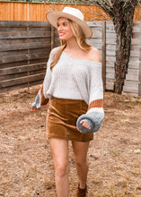 Feeling Good Color Block Sweater - Sugar & Spice Apparel Boutique