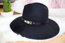 Black Phoenix Panama Hat - Sugar & Spice Apparel Boutique