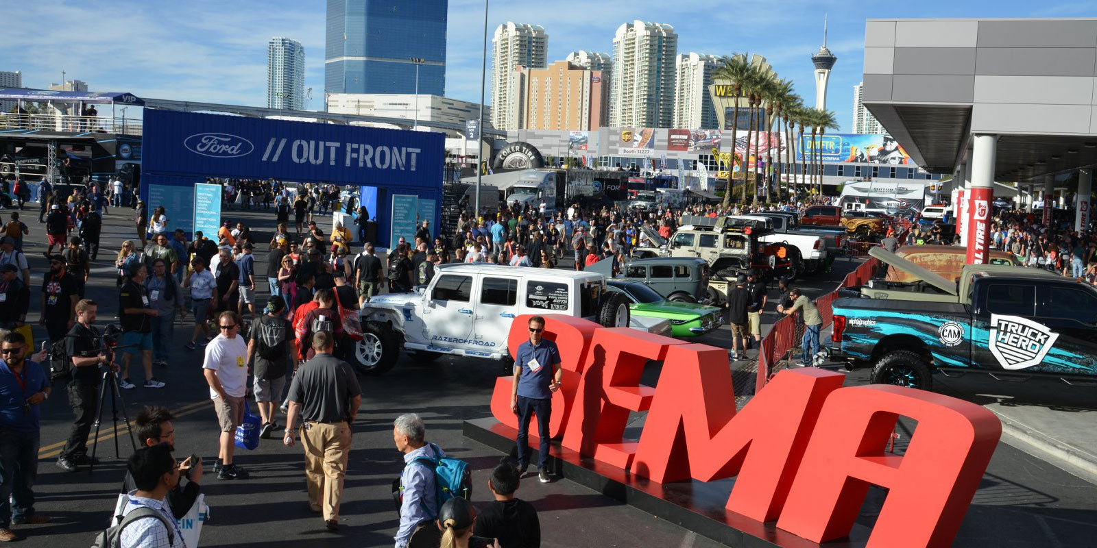 SEMA 2018, The Aftermarket King