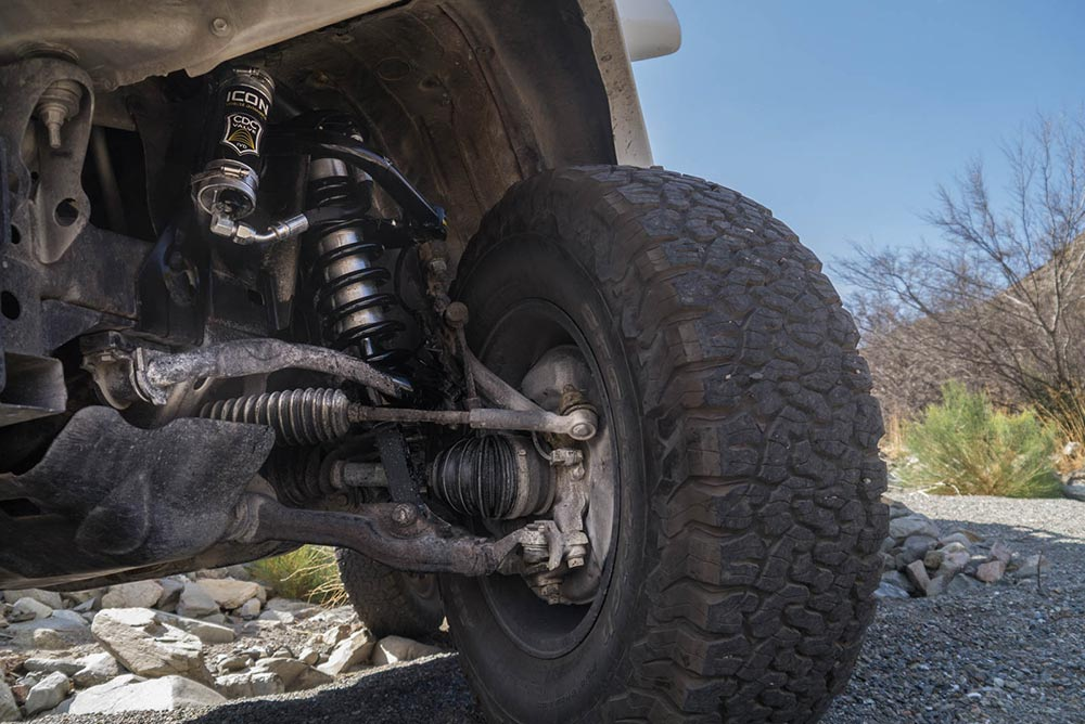 Toyota Tacoma with ICON Vehicle Dynamics Stage 8 Suspension Kit