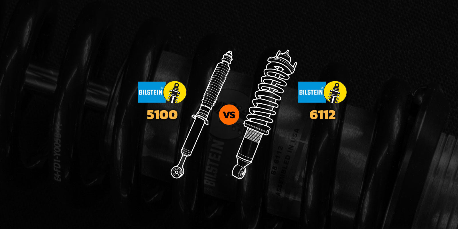 Bilstein 6112 vs. 5100 Shocks, what are the major differences?