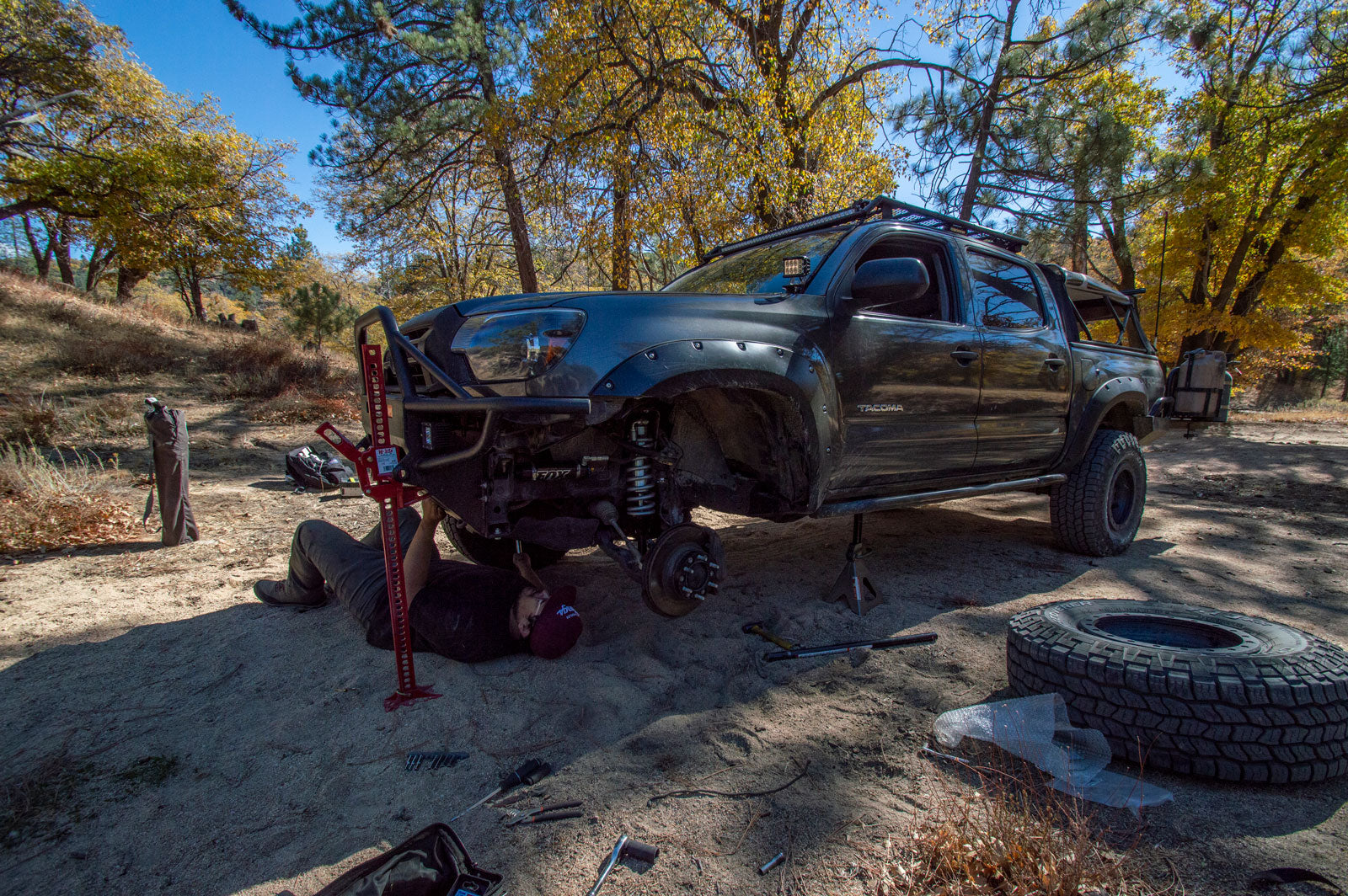 Offroad Surgery on Pilot Rock Trail - FOX 2 5 DSC Takes Over