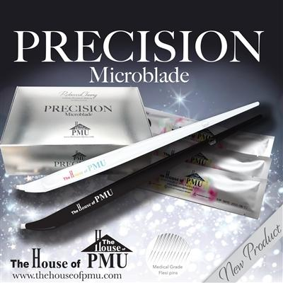 The House of PMU PRECISION Microblade Flexi 11 Slant - VU LONDON PMU UK