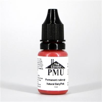 The House of PMU Pigment - Natural Baby Pink (Lips) - VU LONDON PMU UK