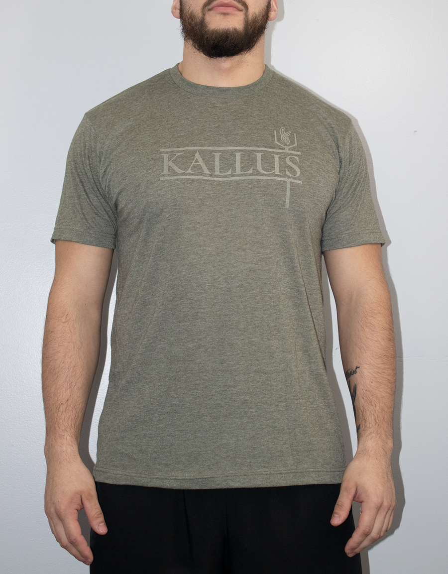 The Basic Tee - Military Green
