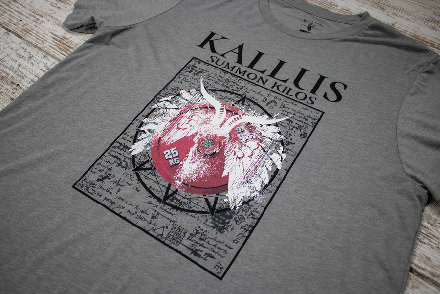 Summon Kilos Tee 1.0 - Cement