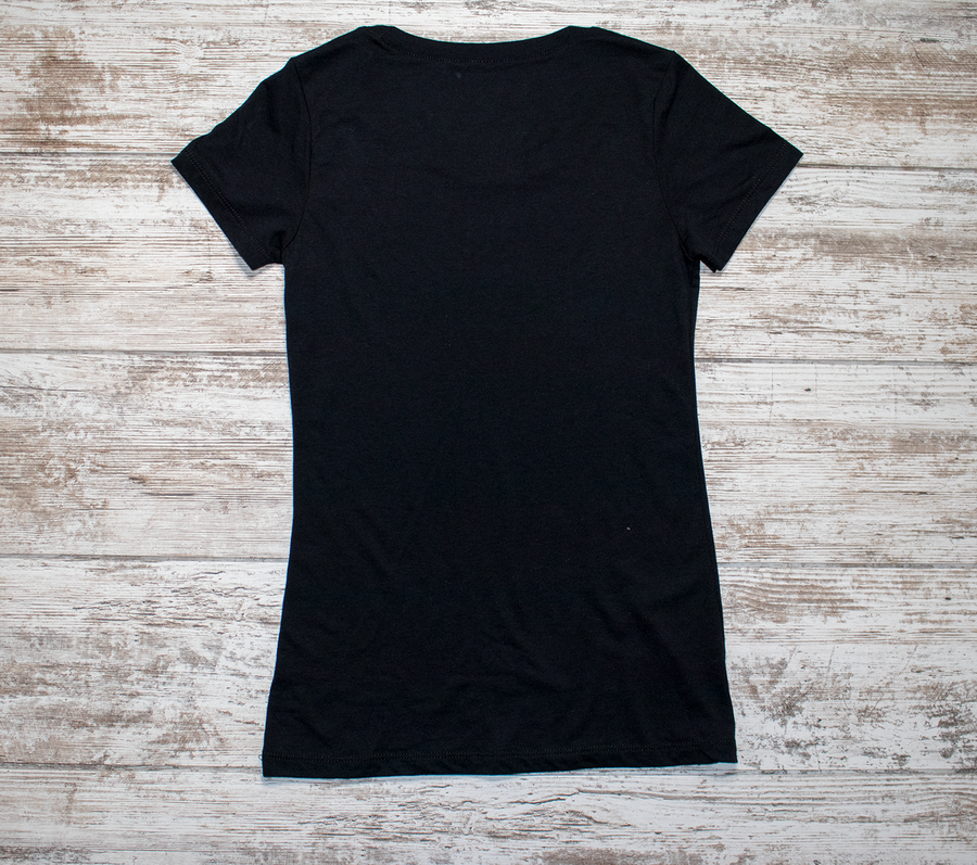Persist and Conquer Ladies Tee - Black