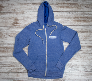 Persist and Conquer Unisex Hoodie - Sky