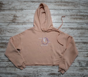 Women's Cropped Hoodie - Sunset