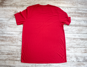 Torched Michgan Tri-Tech Tee - Red