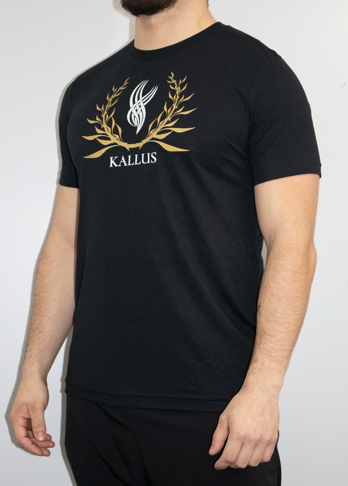 Laurel Wreath TriTech Tee - Black