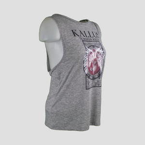 Summon Kilos Ladies Muscle Tank 1.0 - Heather Grey