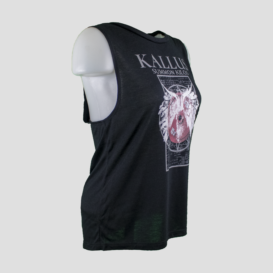 Summon Kilos Ladies Muscle Tank 1.0 - Black