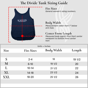 The Divide Tank - White Haze ( Color will be Discontinued )
