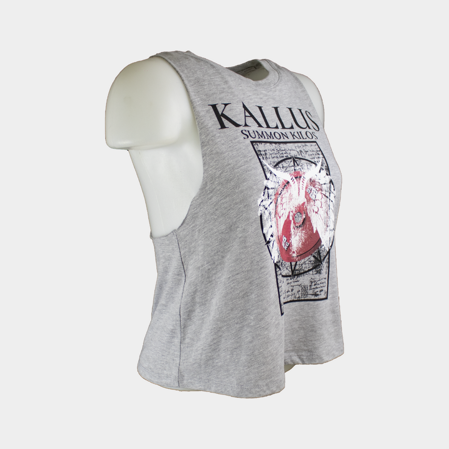 Summon Kilos 1.0 Cropped Tank - Grey