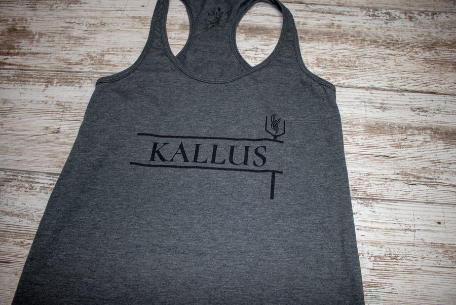 The Basic Tank - Charcoal
